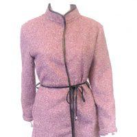 Pink Boucle Jacket