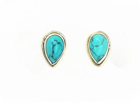 925 Silver Turquoise Studs