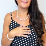 White Fresh Water Pearl Necklace Set