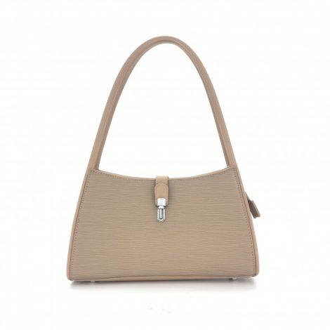 Beige Vintage Style Handbag