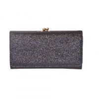 Black Glitter Fashion Purse