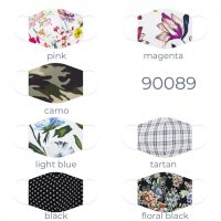 Variety of Cotton Face Mask 90089