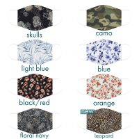 Variety of Cotton Print Face Mask