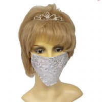 Organza Face Mask Coverings Pearls