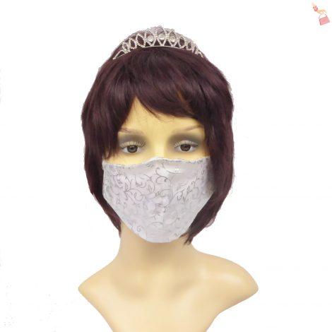 Organza Filigree Face Mask