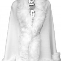 White Fur Wrap