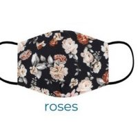 Roses Cotton-Print-Face-Mask