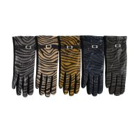 Zebra Print Gloves