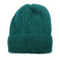 Teal Knitted Woolly Hat