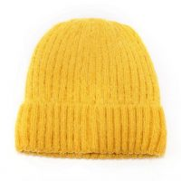 Mustard Knitted Woolly Hat