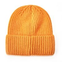 Mustard Knit Woolly Hat