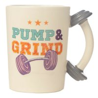 Bodybuilding Fitness Novelty Mug