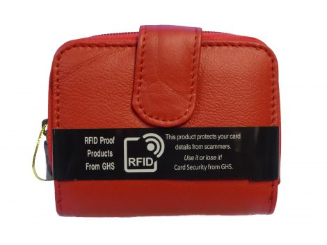 Small Leather RFID Purse