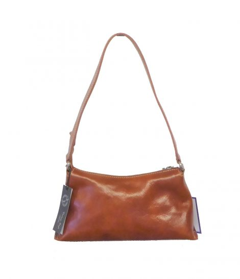 Tan Leather Vintage Handbag