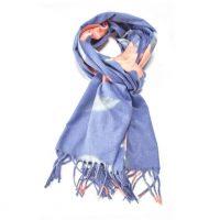 Blue Roses Pashmina Scarf