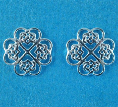 925 Silver Celtic Earrings
