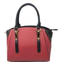 Red Classy Tote Handbag