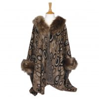 Fawn Faux Fur Wrap