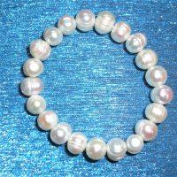 Fresh Water Pearl Elasticated Bracelet