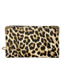 Brown Leopard Print Fashion Purse