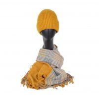 Mustard and Tartan Gift Set