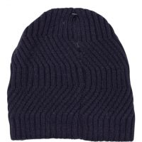 Navy Blue Knitted Hat