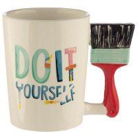 DIY Paint Brush Mug