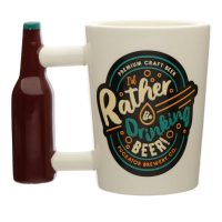 I'd Rather Be Drinking Beer Mug