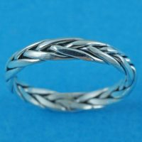 925 Silver Celtic Band Ring