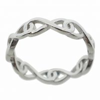 925 Silver Infinity Ring