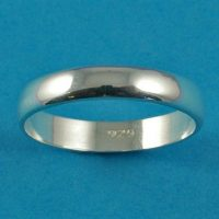 925 Silver Plain Band Ring