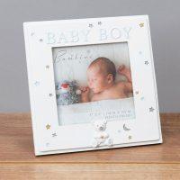 Bambino Resin Baby Boy Photo Frame
