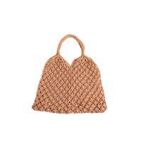 Brown Strung Shopper Bag