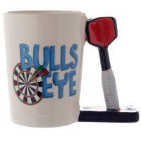 Darts Shaped Handle Mug