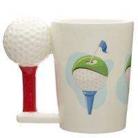Golf Ball Shaped Mug